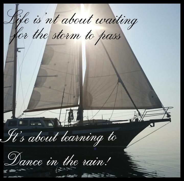 Livet är ganska mycket som att segla…