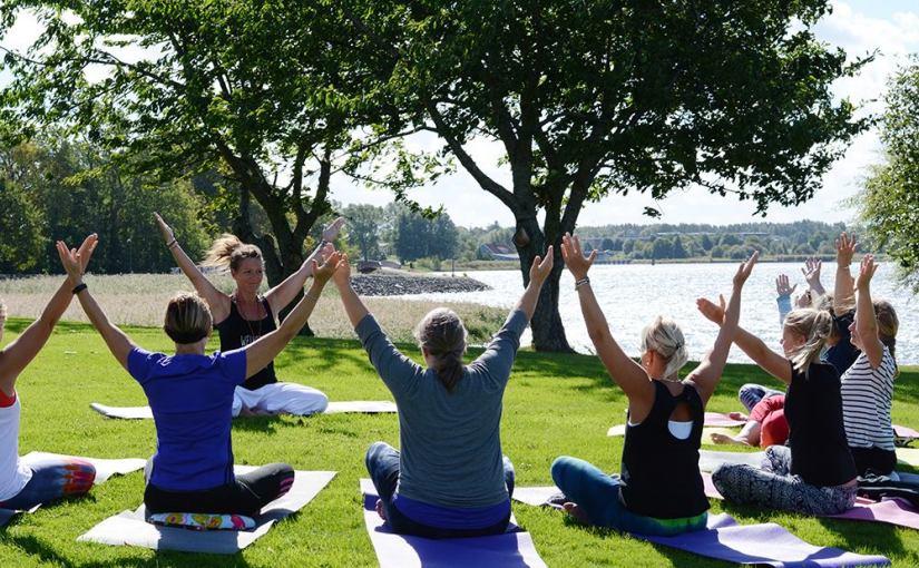 Fantastiskt härlig dag fylld med yoga, skratt & värme!