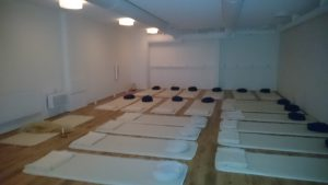 Medicinska Yogainstitutet i Göteborg där vi höll vår instruktörsutbildning i Medicinsk Barn & Ungdomsyoga
