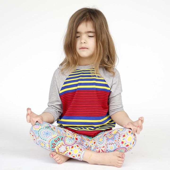 Ljudfiler Barn Yoga Mindfulness