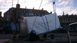 renovering av båten, ny säng