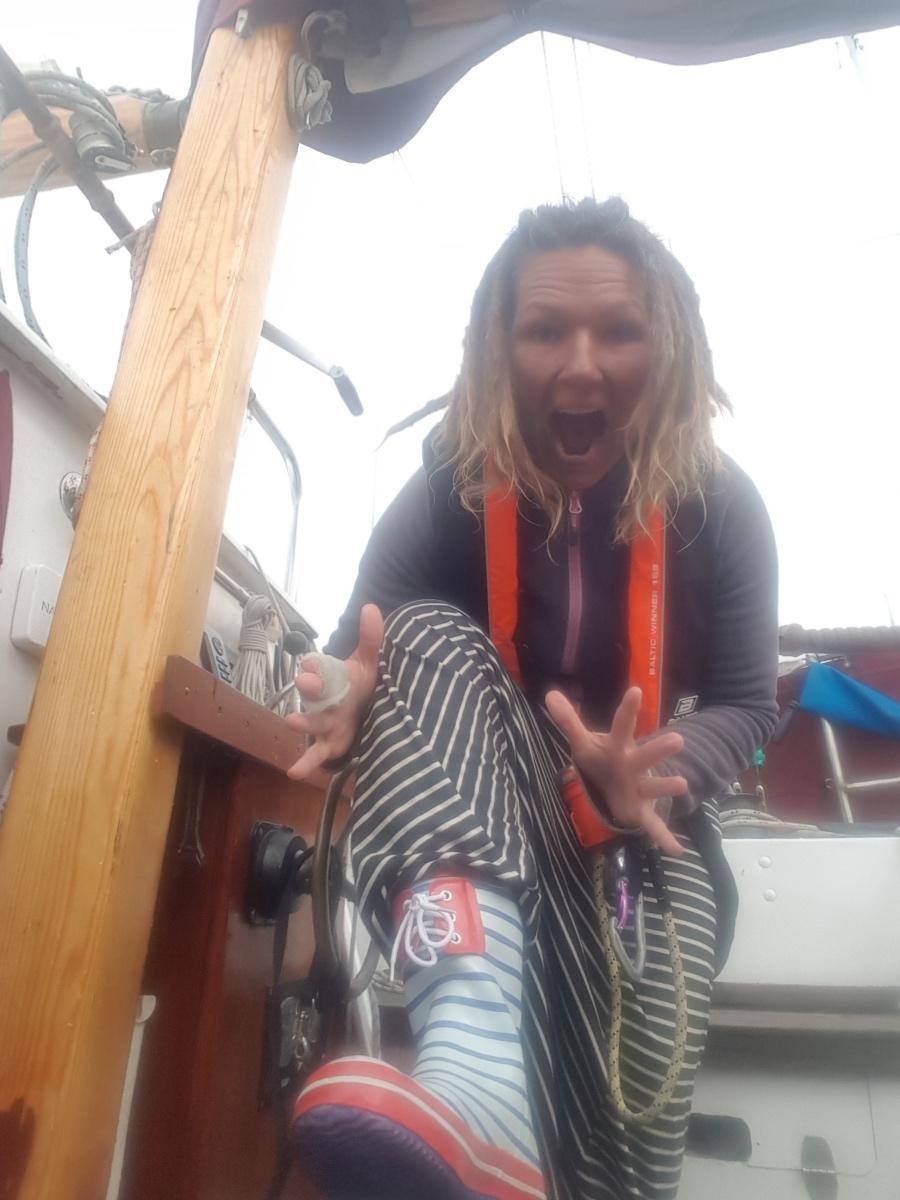 Det blir ofta händelserikt med två båtar med lite lätt impulsiv besättning