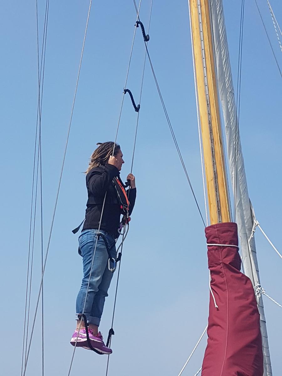 Video från dagens segling mellan Lezardieux och Treguier