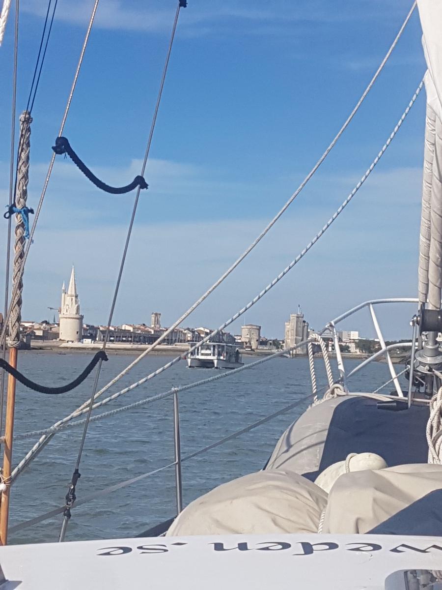 La Rochelle i våra hjärtan….det var en dröm att komma hit med vår segelbåt