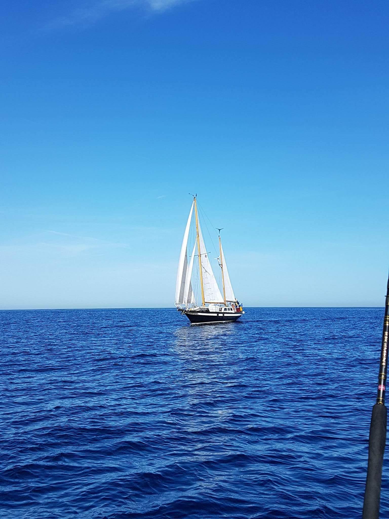 Ut på havet igen…mot horisonten!