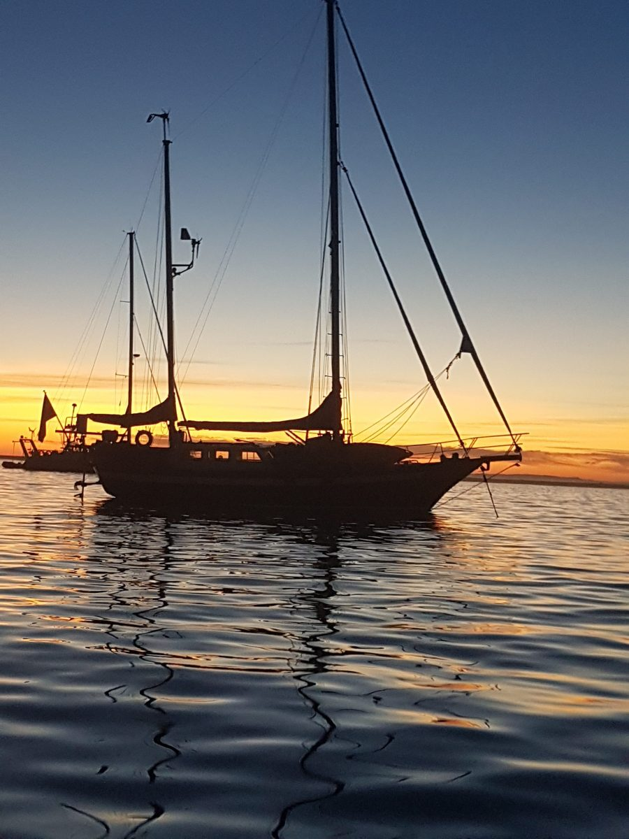 Båtnomad tillfälligt utan båt