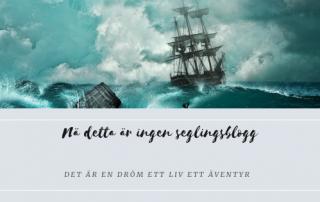 ingen seglingsblogg