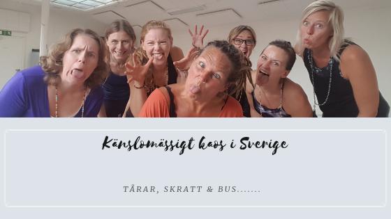 känslomässigt kaos i Sverige