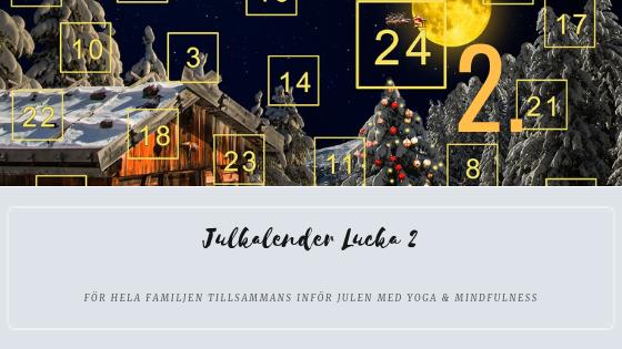 Julkalender 2018 lucka 2