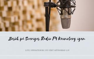 besök på Sveriges Radio P4 Kronoberg