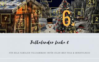 Julkalender 2018 Lucka 6