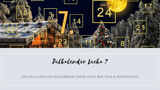 Julkalender 2018 lucka 7