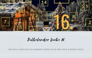 Julkalender 2018 Lucka 16
