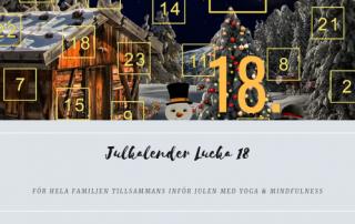 Julkalender 2018 Lucka 18
