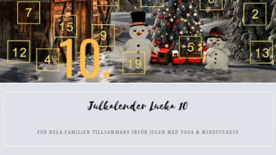 Julkalender 2018 Lucka 10