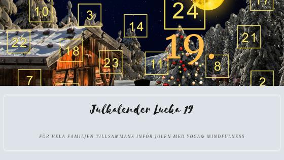 Julkalender 2018 Lucka 19