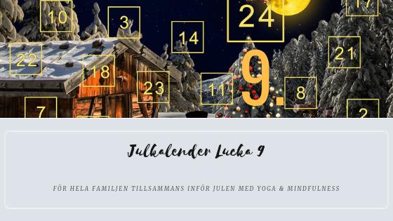 Julkalender 2018 Lucka 9