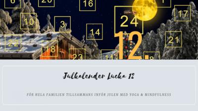 Julkalender 2018 Lucka 12