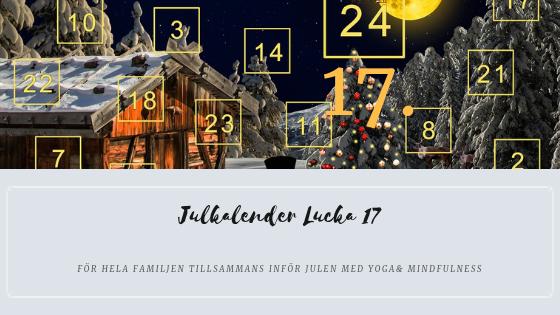 Julkalender 2018 Lucka 17