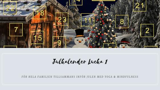 Julkalender 2018